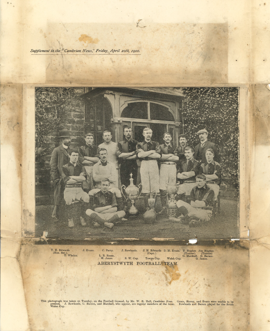 Aberystwyth Town cup winners 1900