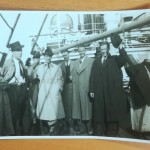 Sweden 1939 - On Boat At Harwich