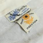 Willie Fagan - 1937 Preston North End Shirt - Collar Label