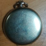 Willie Fagan - Celtic Reserves Pocket Watch - Front
