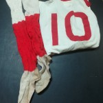 Willie Fagan - LFC - 1950 FA Cup Final - with socks