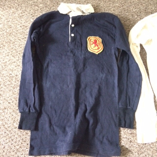 Willie Fagan - Scotland Matchworn 1945