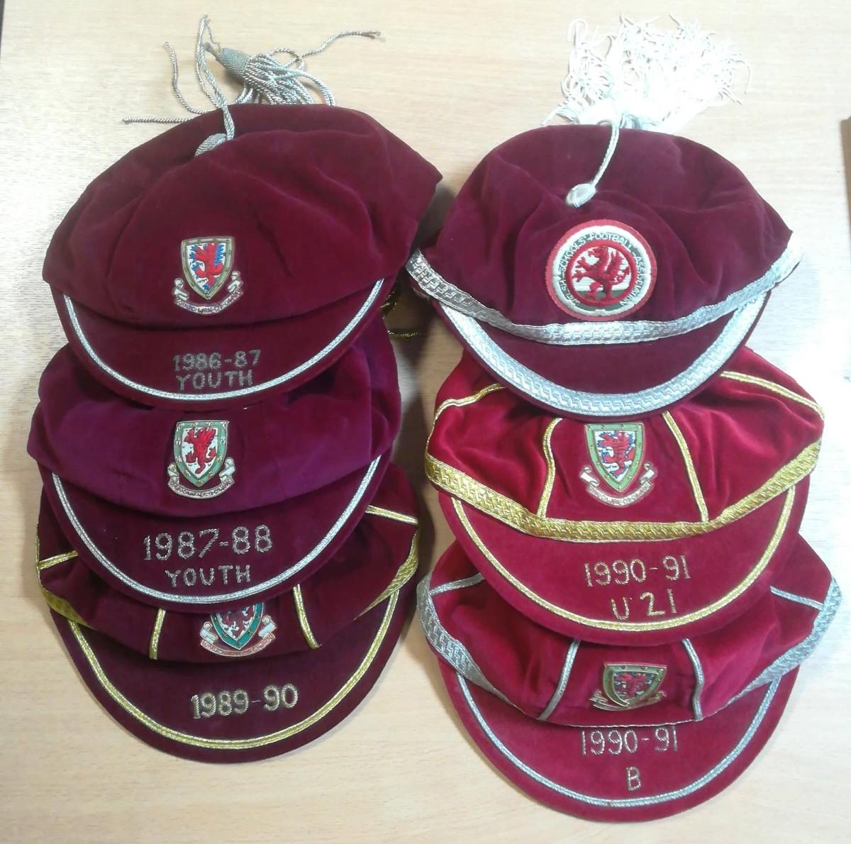 Wales football cap collectors
