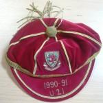 Brian Law Caps - Wales U21 - 9-91