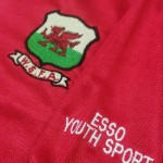 Brian Law - Wales Schoolboy Shirt - Badge