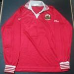 Wales schoolboy football shirt collector