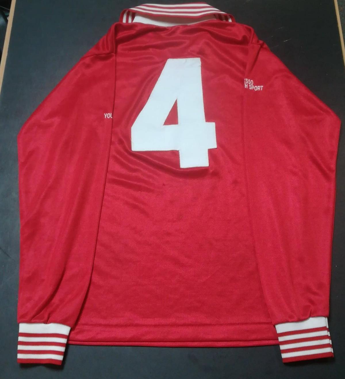 Brian Law - Wales Schoolboy Shirt - Rear