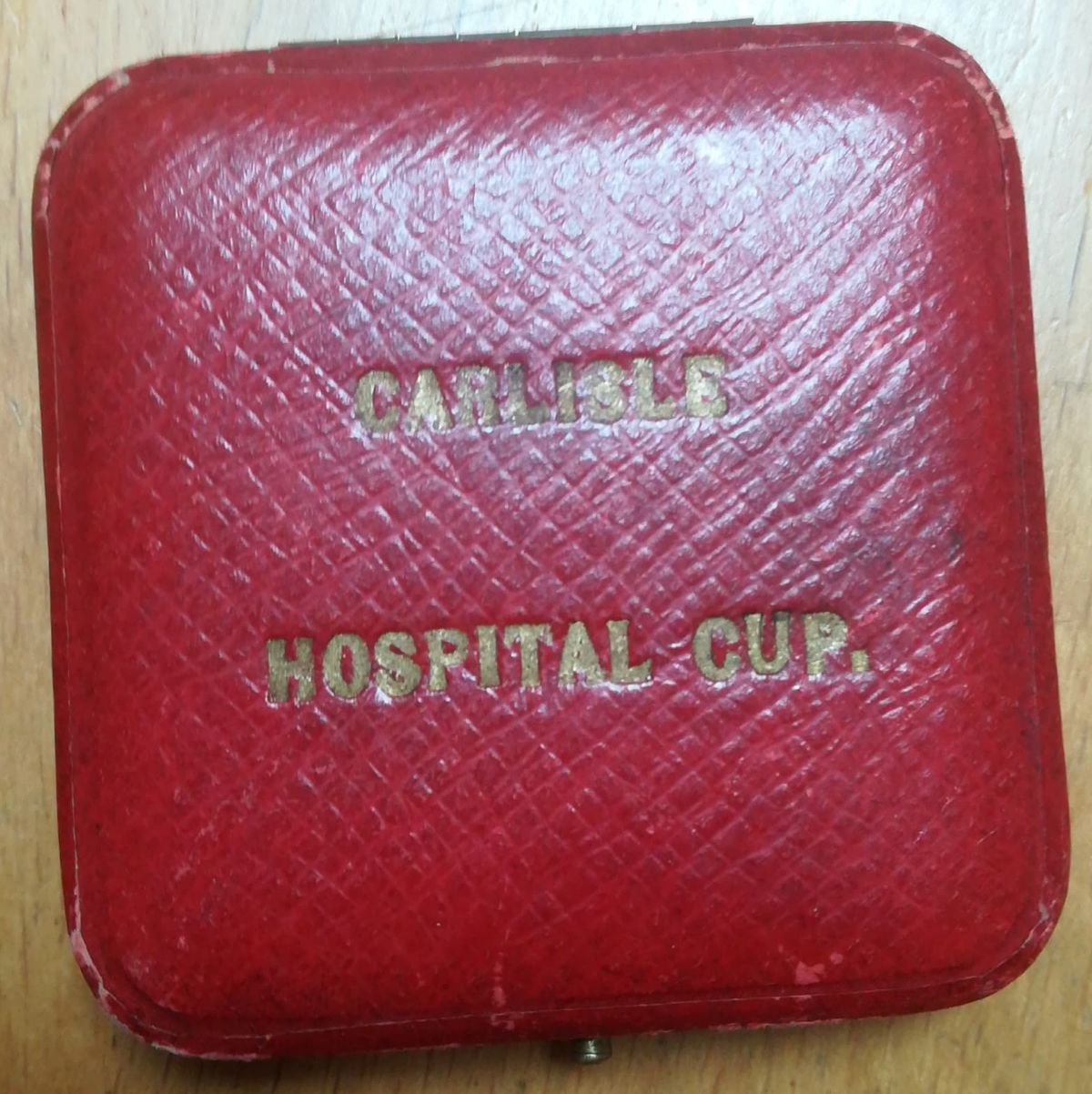 Carlisle Hospital Cup Winners Medal - 1921-22 - Box