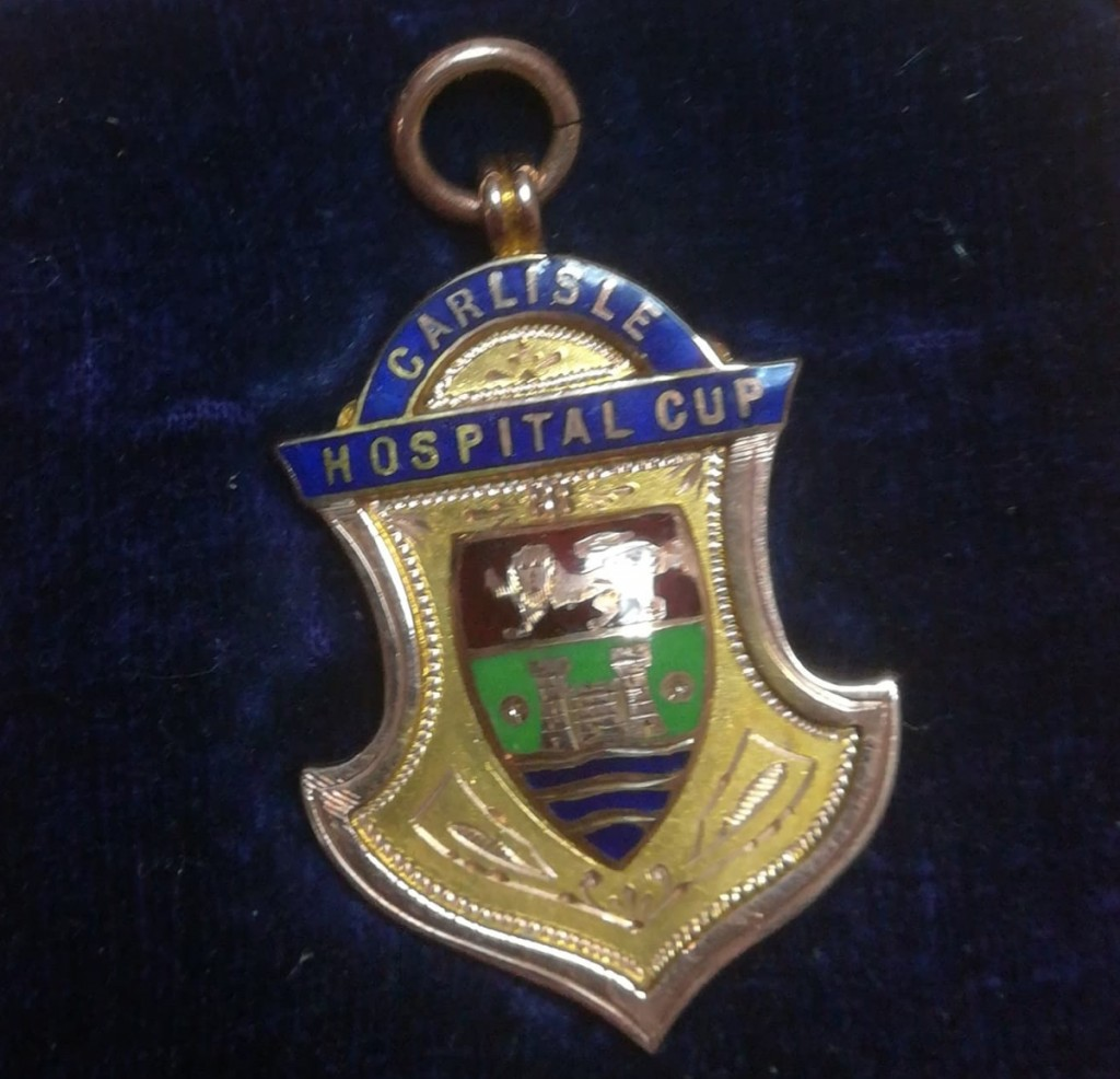 Carlisle Hospital Cup Winners Medal - 1921/22