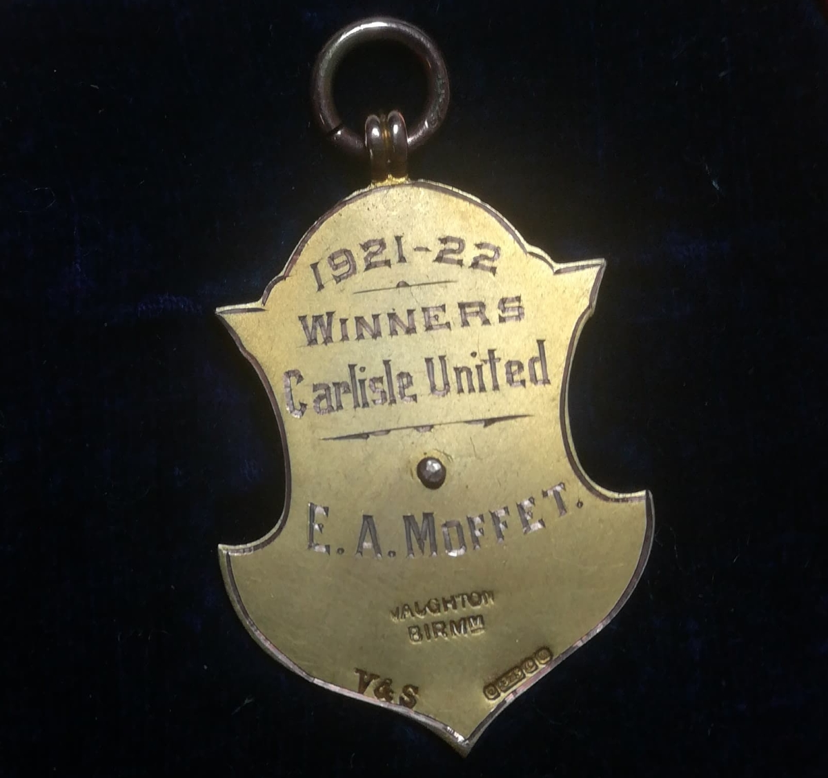 Carlisle United medal collector