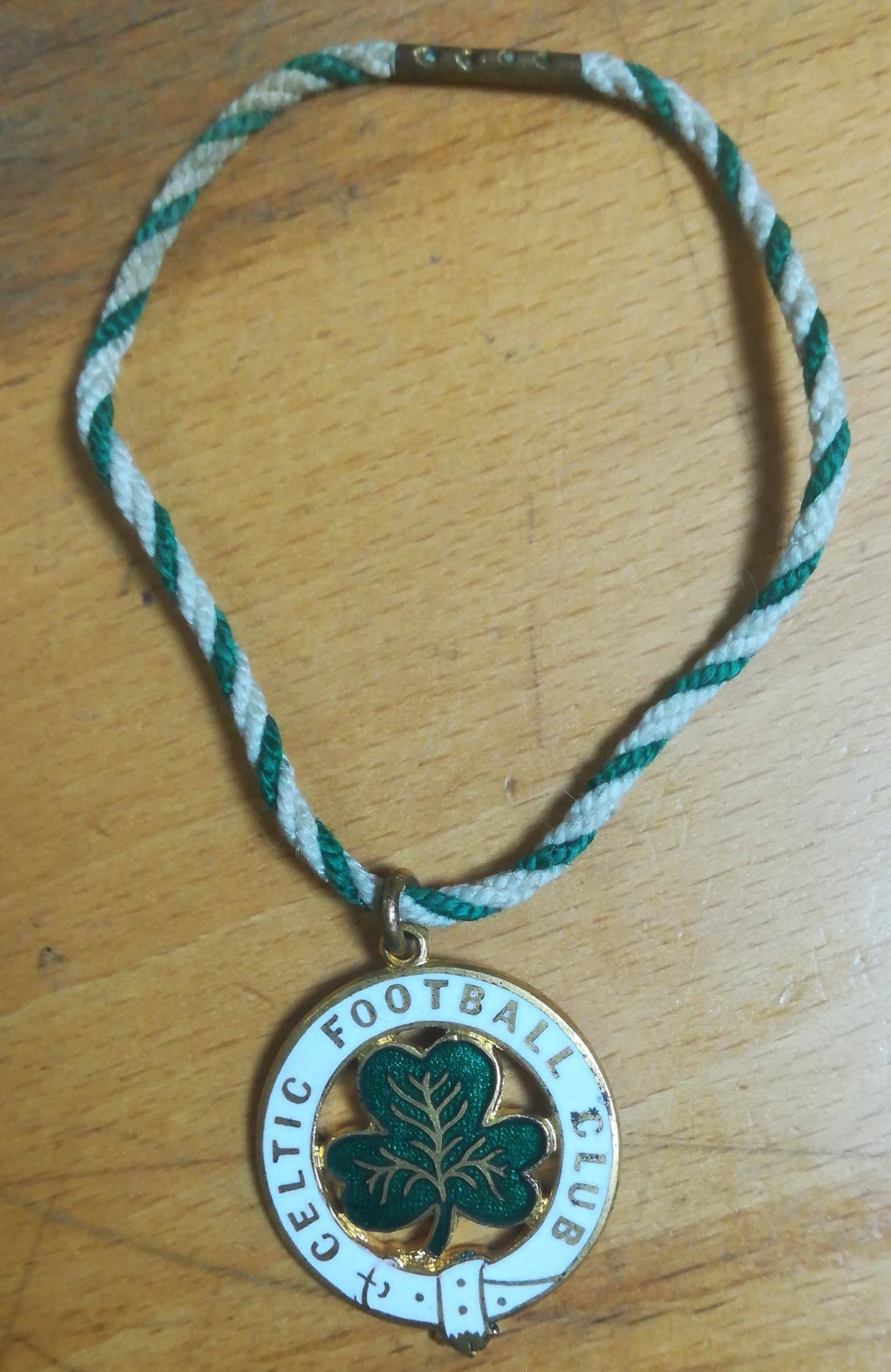John Liddell - Celtic Badge Front