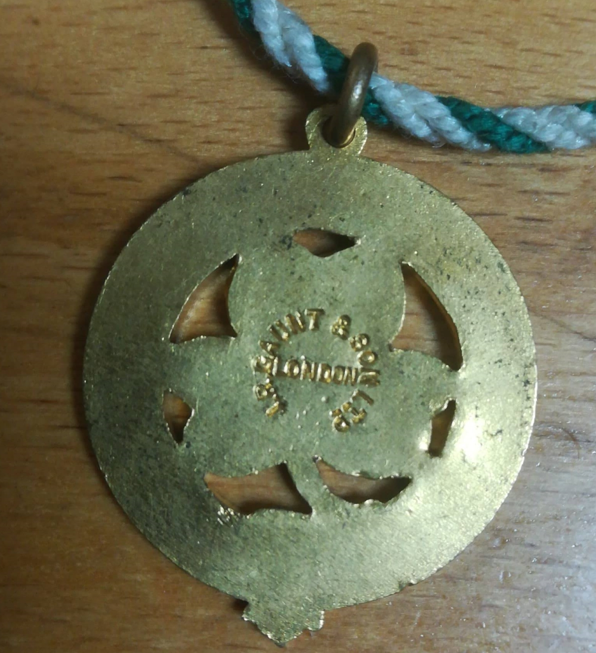 John Liddell - Celtic Badge Rear