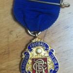 John Liddell Rangers Medal