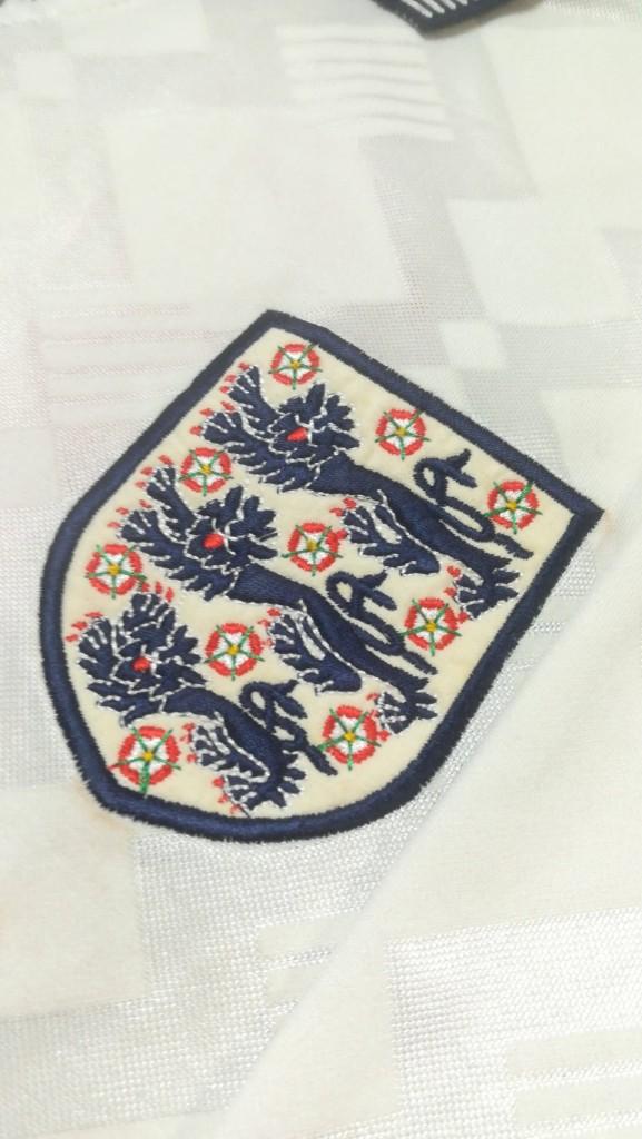 Nigel Jemson England U21 Spare Shirt