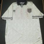 England U21 matchworn shirt collector