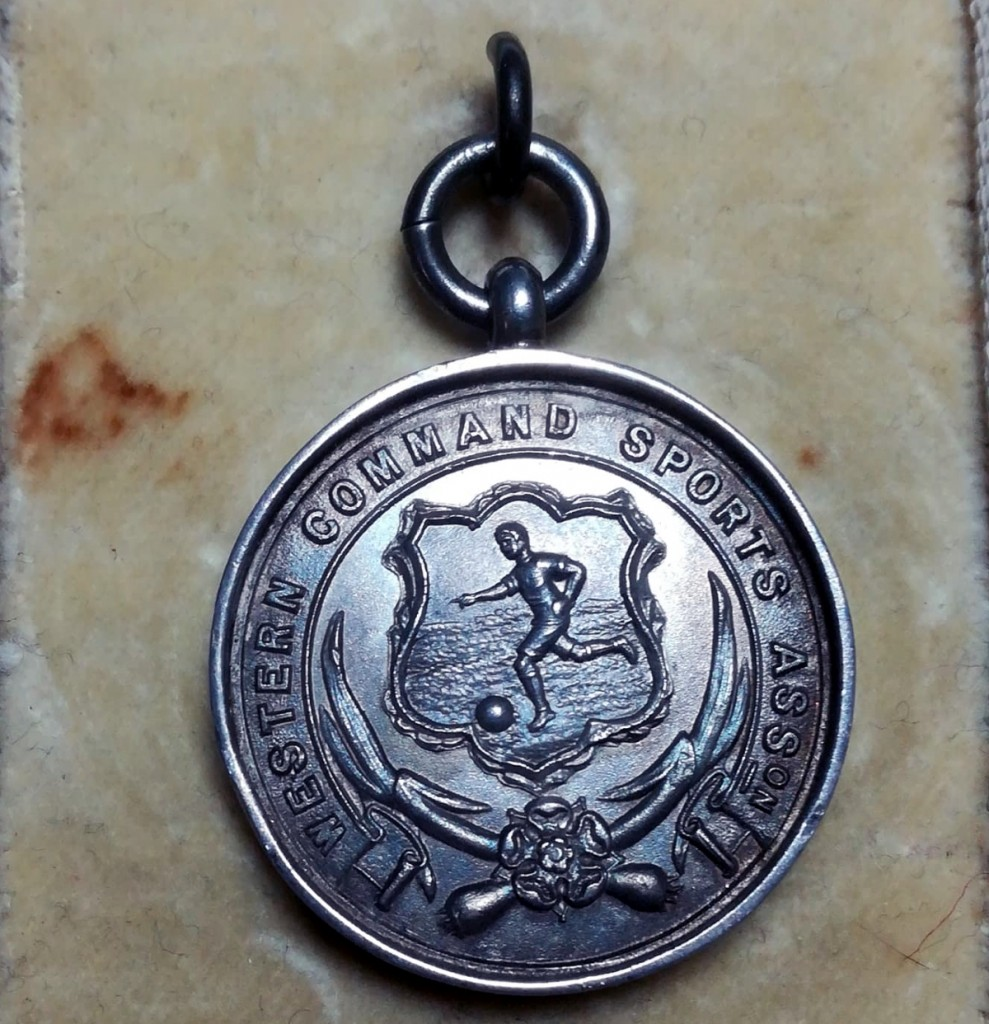 Western Command Sports Association Football Medal