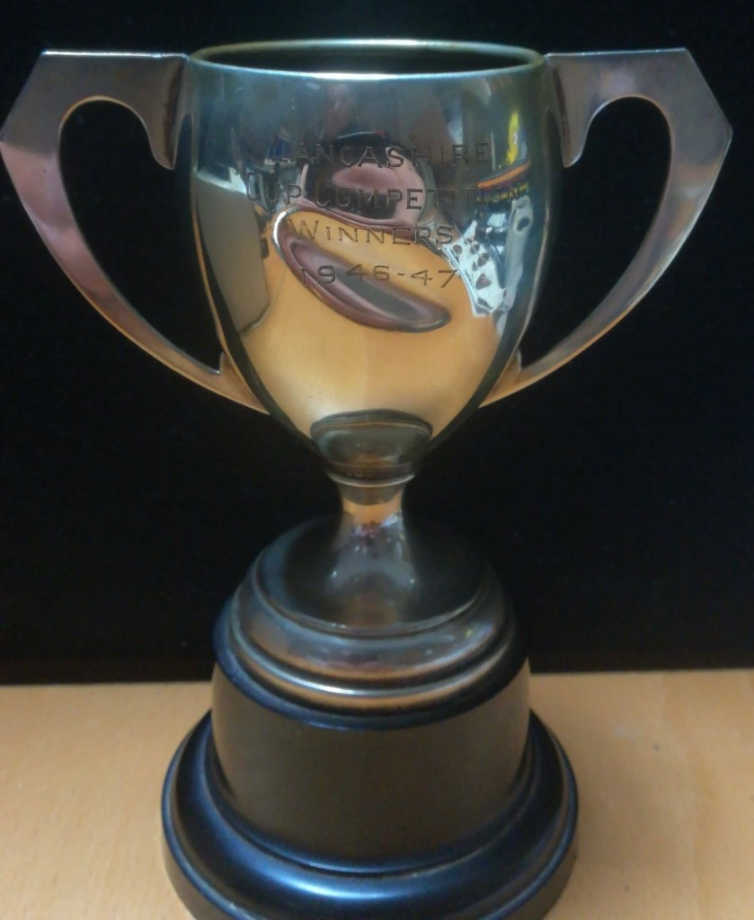 Lancashire Cup Winner's Trophy 1946-47