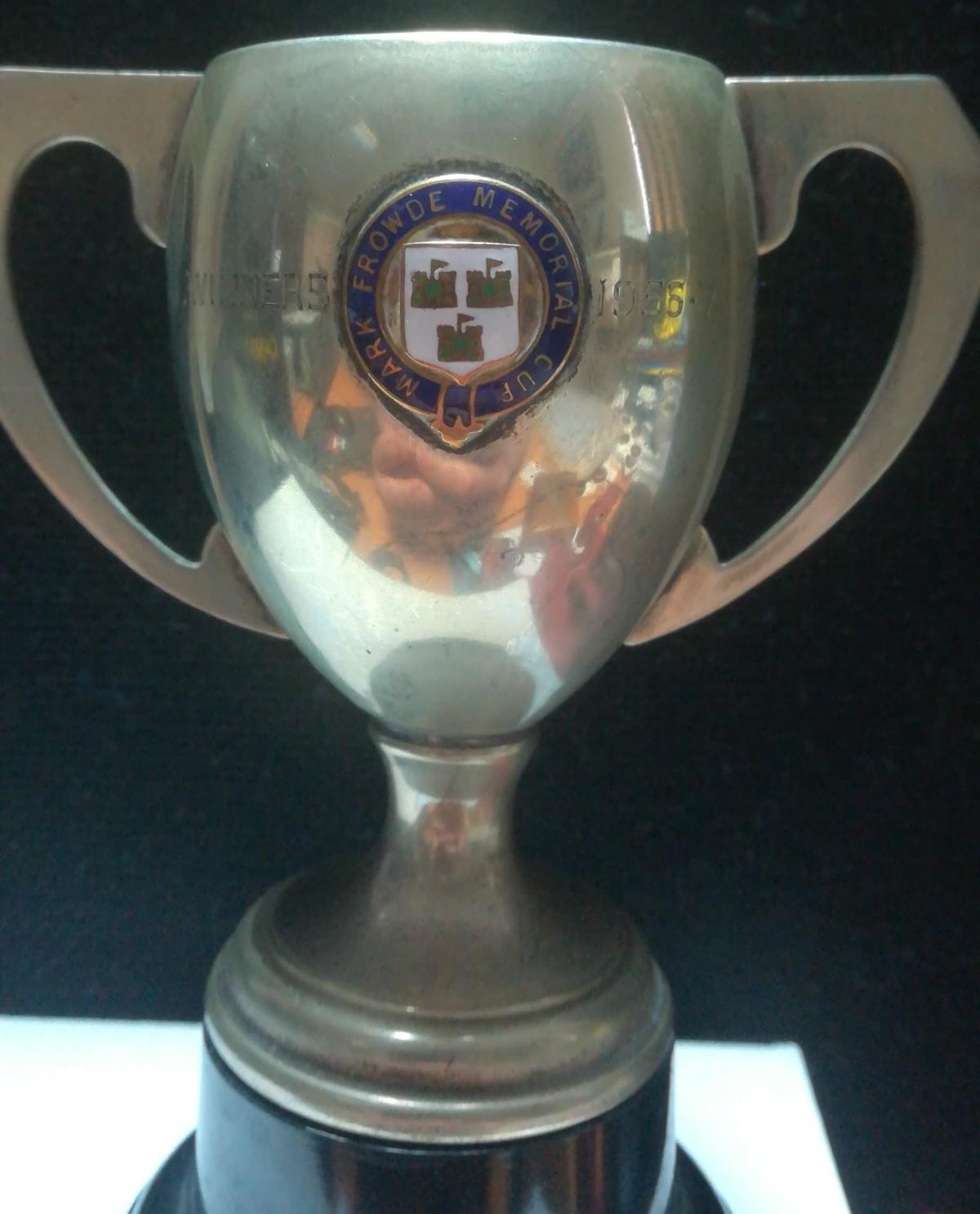 Mark Frowde Memorial Cup winners