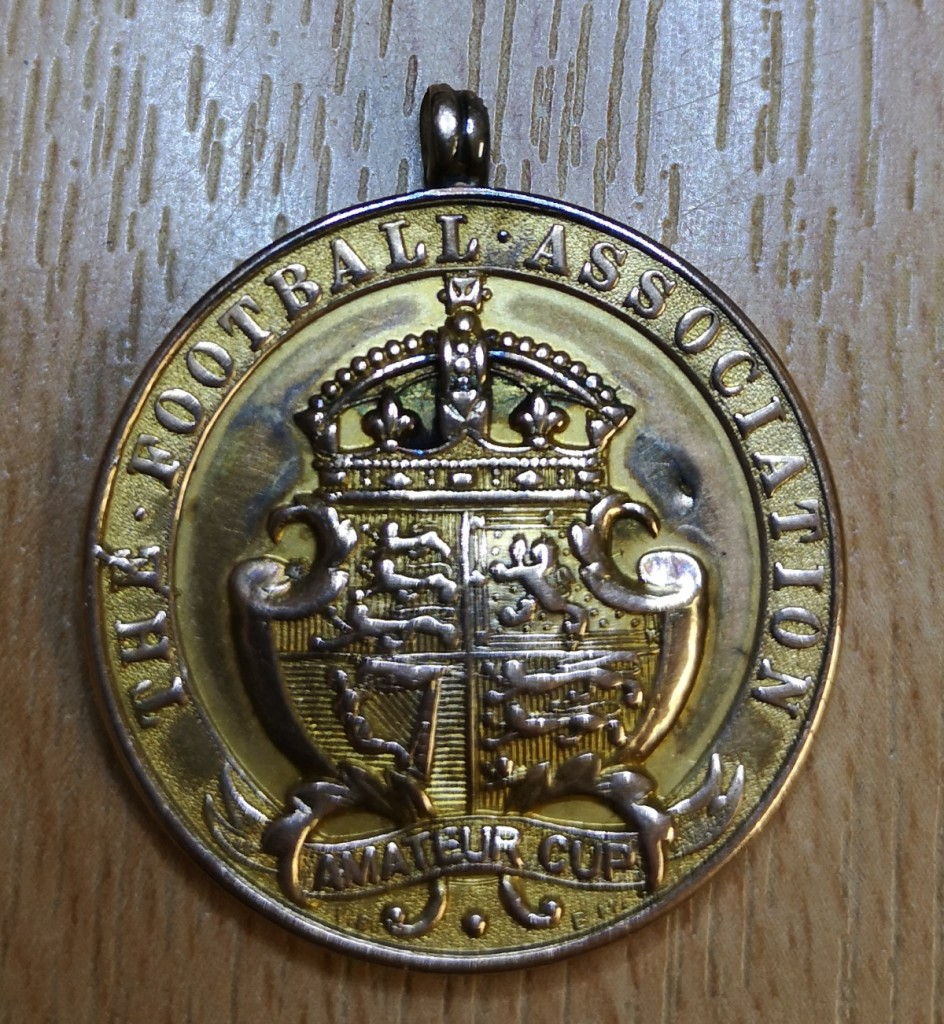 James Marshall - FA Amateur Cup Winner's Medal 1899/1900