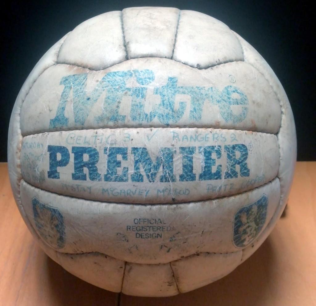 Celtic vs Rangers 1982 Signed Match Ball