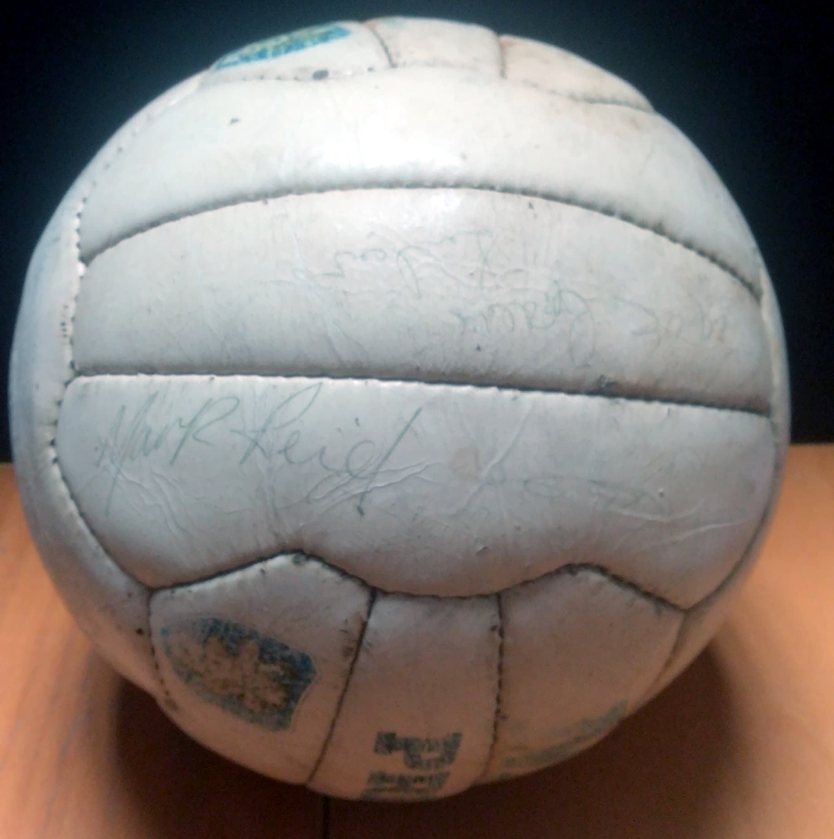 Celtic vs Rangers 1982 Signed Match Ball - 2