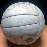Celtic vs Rangers 1982 Signed Match Ball - 4