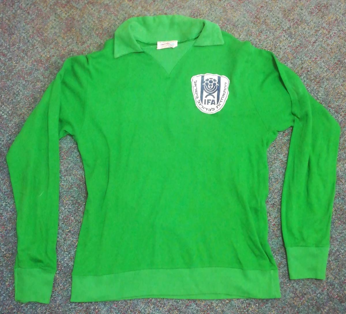 Israel matchworn shirt collector