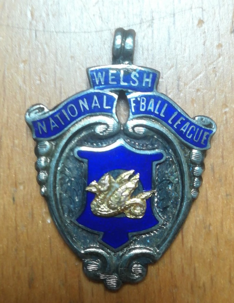 Welsh National Football League Runners Up Medal