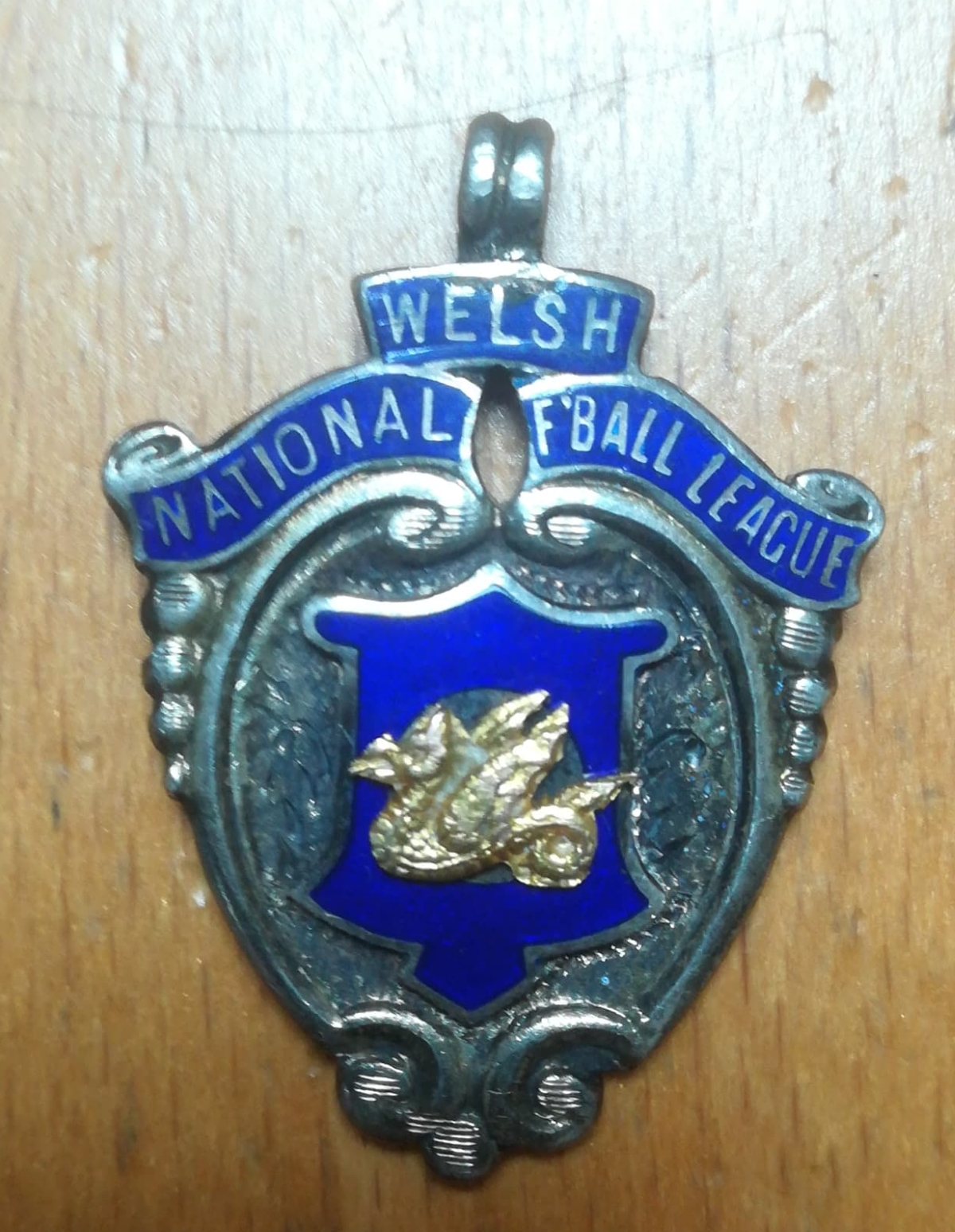 Welsh football medal collector