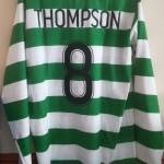 Alan Thompson's Celtic vs Chivas of Guadalajara Matchworn Shirt - Rear