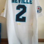 Gary Neville - England v Scotland Euro 96 - Rear
