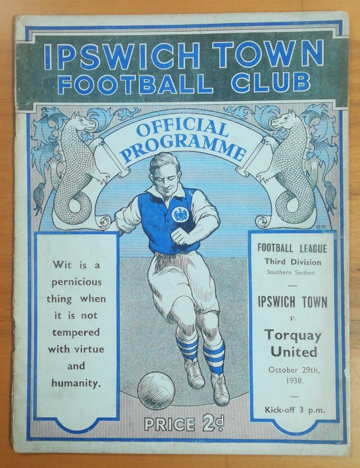 Ipswich Town memorabilia collector