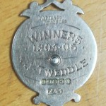 J Tweddle - West Auckland FC - Winners Medal 1905-6 - Rear