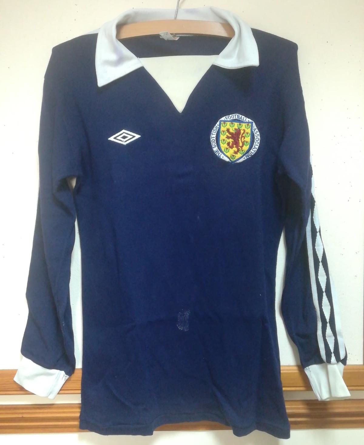 Kenny Dalglish matchworn shirt value