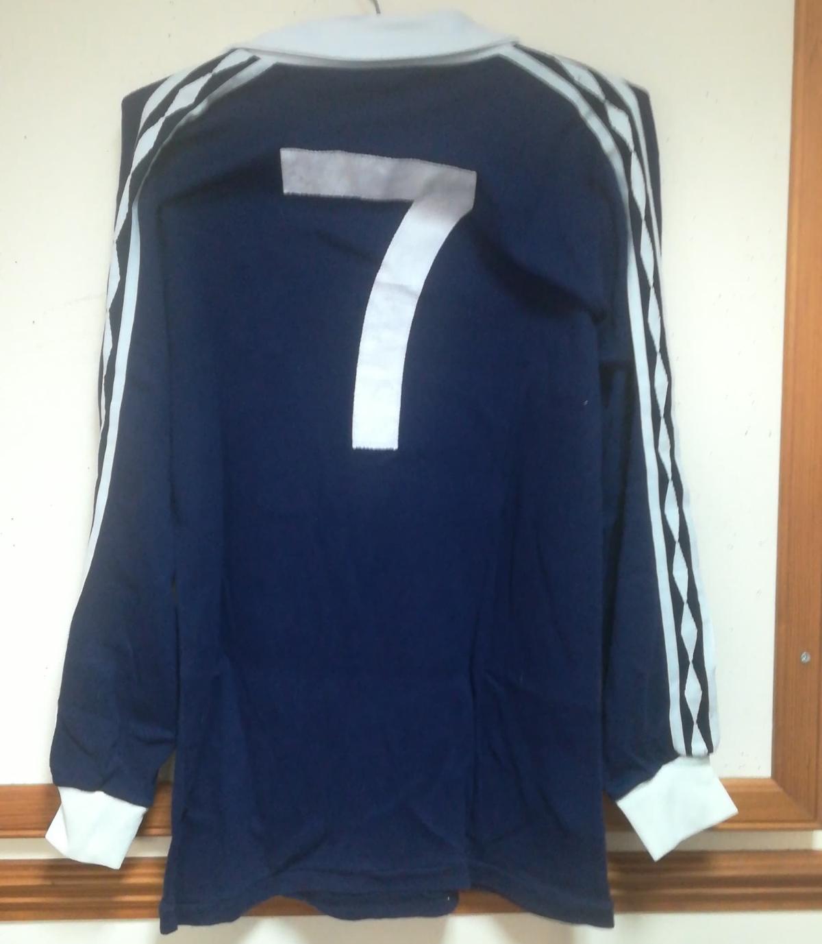 Scotland matchworn shirt collector
