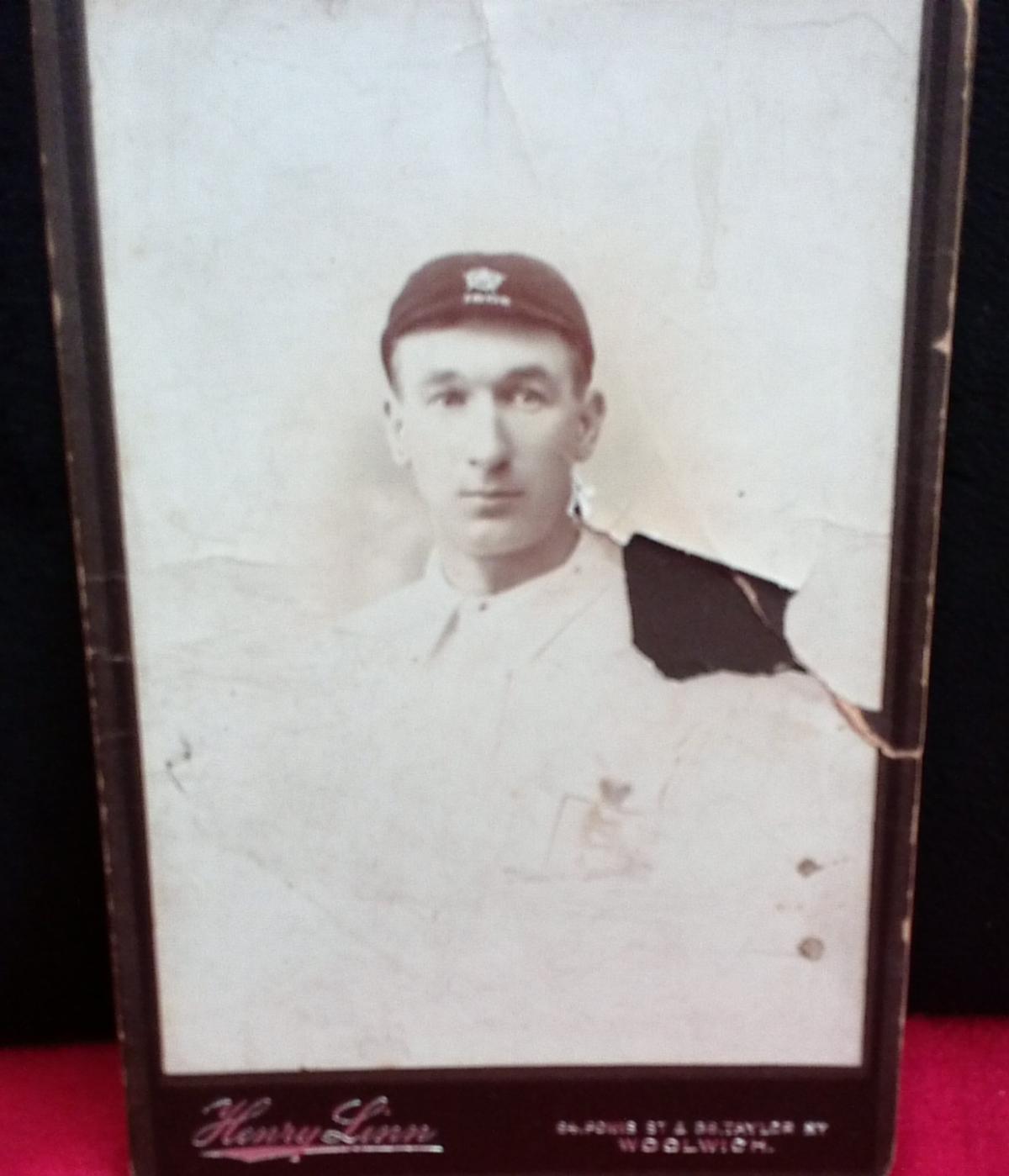 England footballer photograph collector