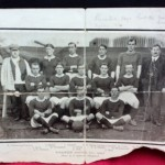 13. Photo. Jimmy Ashcroft and Woolwich Arsenel F.C. team 1905 - 6