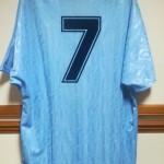 David White's England Debut Shirt v Spain - 1992 - Rear