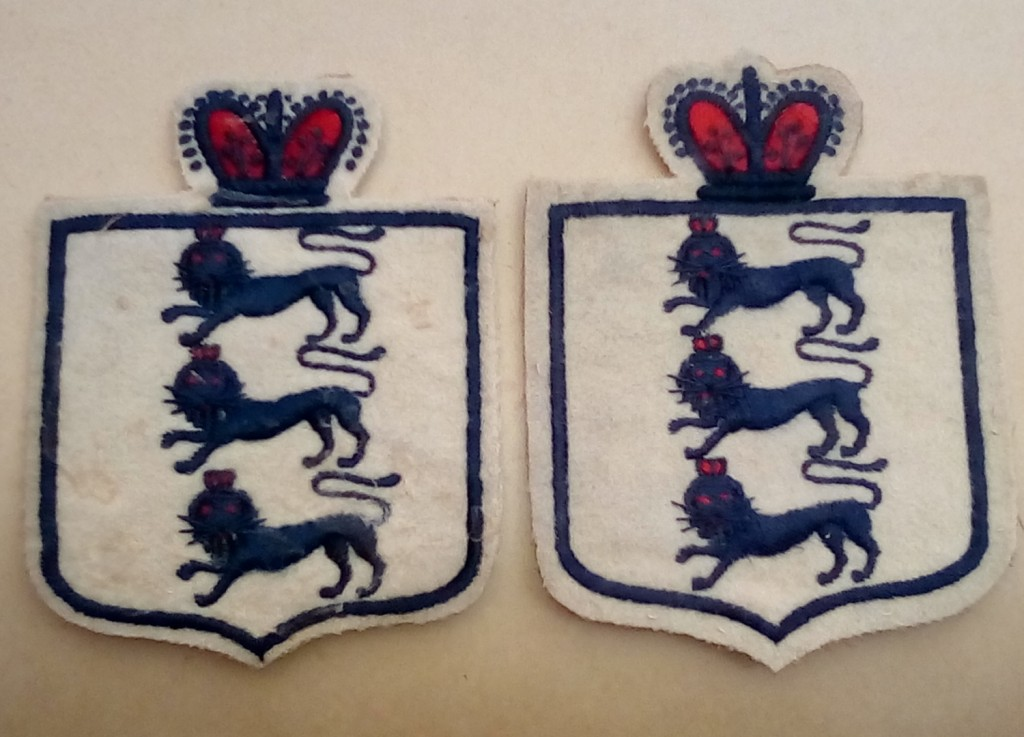 Jimmy Ashcroft - England Shirt Badges 1906