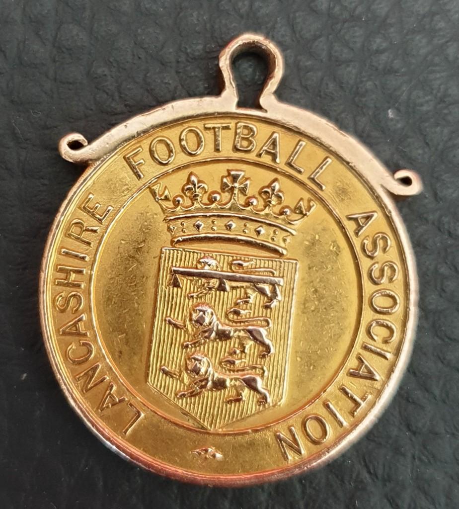 Jimmy Ashcroft - Lancashire FA Winners Medal 1910/11