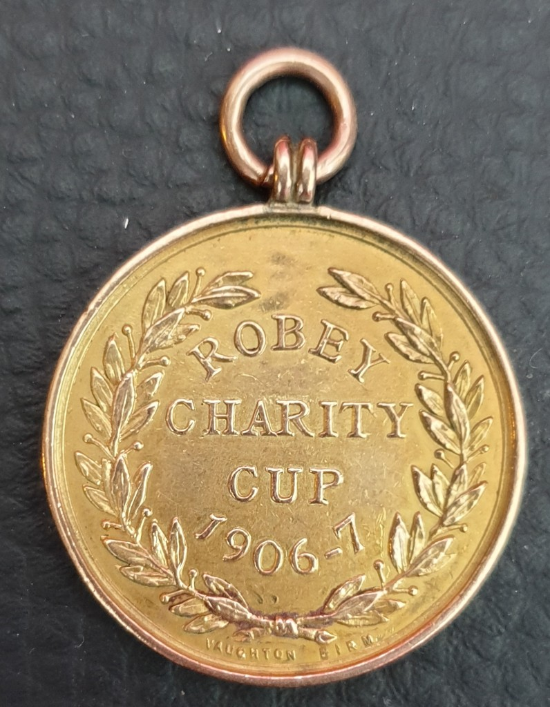 Robey Charity Cup Medal - 1906-07
