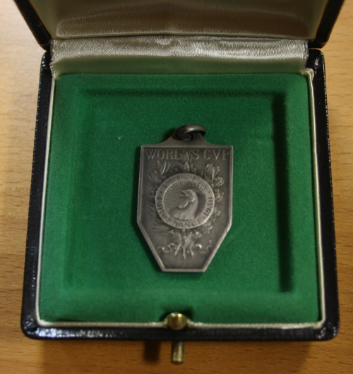 1938 World Cup Runners Up Medal