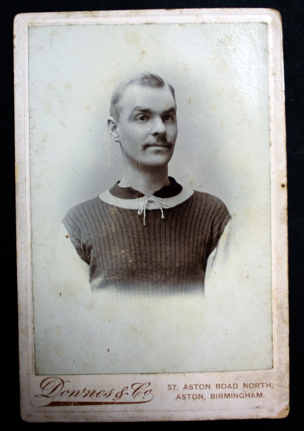 Aston Villa 1900s Cabinet Cards