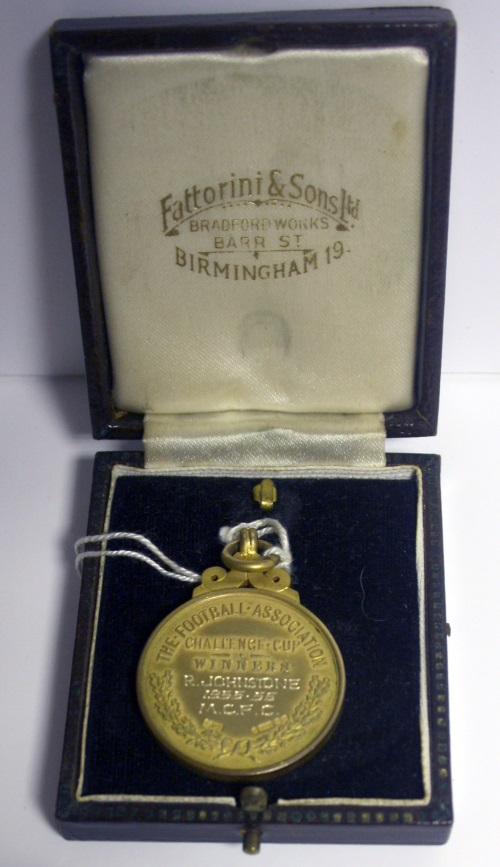 Bobby Johnstone 1956 FA Cup Winners Medal