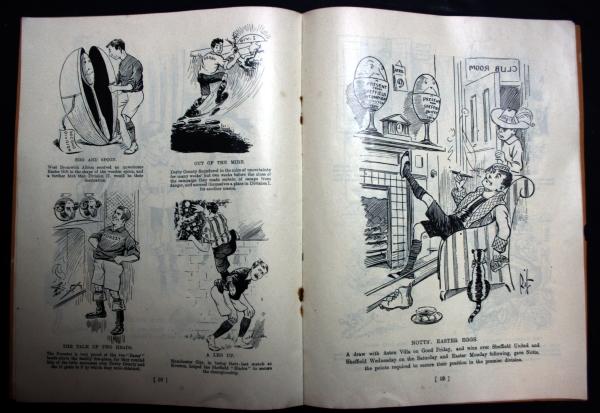 Football Post 1903/4 Cartoon Book - Rare Specimen Copy