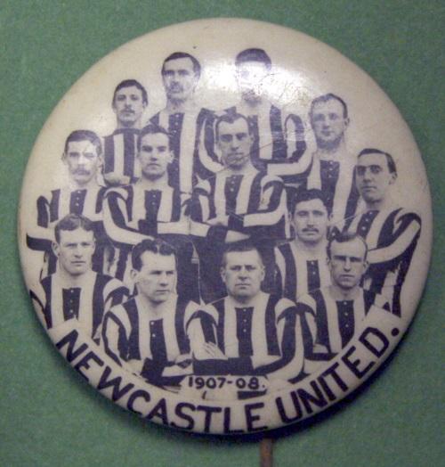 Early 1900s Football Pin Badges