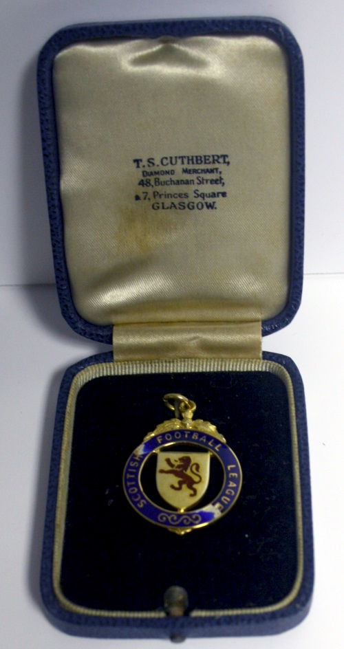 James Forrest 1964 Scottish League Cup Final Winners Medal