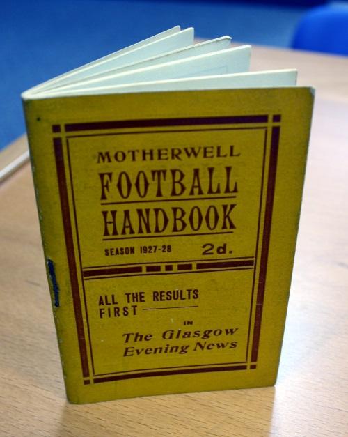 Motherwell FC Football Handbook - 1927/28 Season
