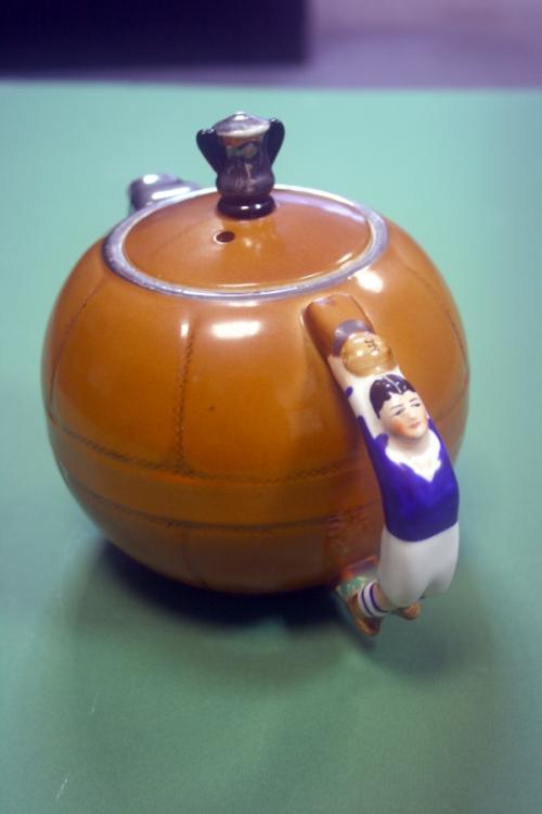 1930s Art Deco Shrewsbury Town FC Teapot