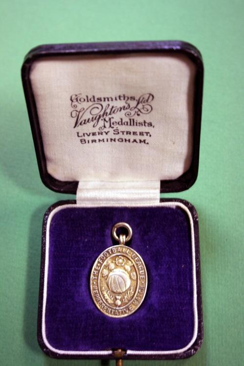 Stan Mortensen 1948 Football League v Scottish League Medal